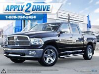 2012 RAM 1500 4x4 Crew Cab Bighorn Center Shift  We Finance