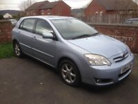 2005, TOYOTA COROLLA 2.0 D4D T-SPIRIT 1 FORMER KEEPER, FOR SPARES OR REPAIR