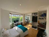 Large and bright double room in leafy suburb!