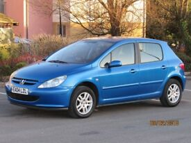 PEUGEOT 307 ENVY 1.4 PETROL NEW MOT FULL SERVICE HISTORY LOVELY EXAMPLE CHEAP MOTORING