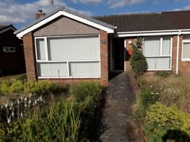 2 Bed Semi Detached Bungalow with Garage in Burnopfield