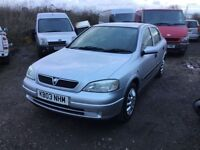 2003 Vauxhall Astra club in vgcondition lovely drivingfamily car long mot low mileage any trial welc