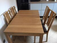 Table & Dining Chairs
