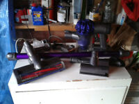Dyson V6 Cordless Handheld Vacuum Cleaner With Accesories spares and repairs FREE LOCAL DELIVERY