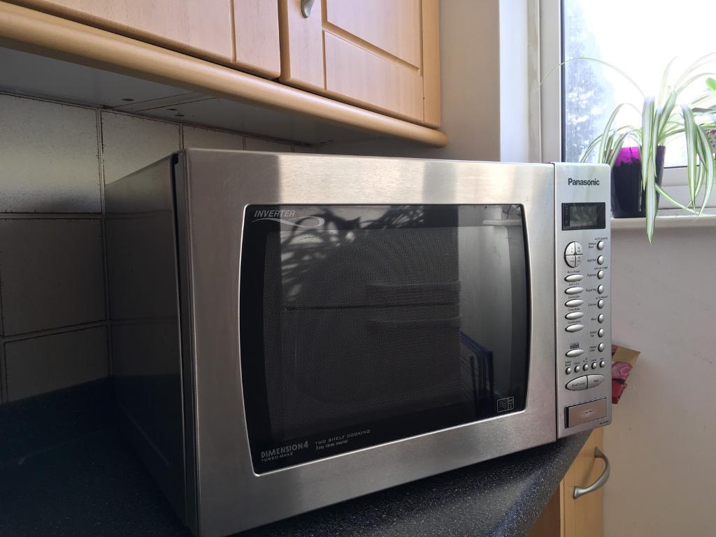 Panasonic Dimension 4 Turbo Bake combination microwave oven | in Thame,  Oxfordshire | Gumtree