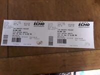 Blink 182 liverpool tickets x2