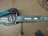 a bosch chain saw