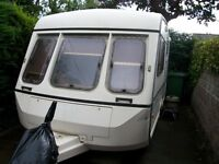 Swift Corniche two-berth Caravan