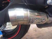 Gp pro race exhaust GSXR 600/750 K8