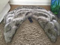Fur shrug perfect for bridesmaids x4