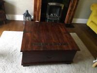 Coffee table/ blanket box