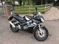 2006 honda SR 125cc motorcycle