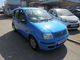 2006 06 fiat panda2 1.2 dynamic 5 door, 12 months mot, only 41,000 miles, 30 + cars in stock.