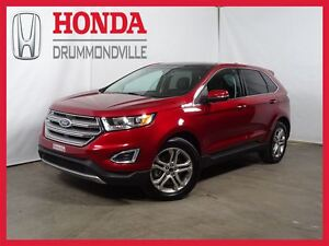 2015 Ford Edge Titanium+ CUIR+NAVIGATION+TOIT PANORAMIQUE