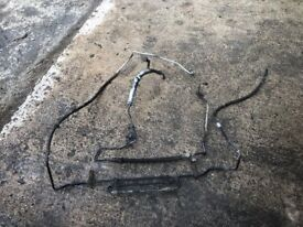 Power steering pipes Transit connect 2002 - 2006