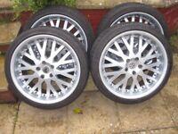 """20"""" Alloy Wheels suitable for VW Transporter/Camper or similar"""
