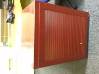 RETRO Red cabinet for tools or office storage