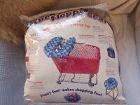 """Floppy Seat"" for use in shopping trolleys, restaurant high chairs etc. – Brand New - Bargain!"