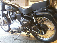 Royal Enfield Bullet350 2007 and sidecar £3,000