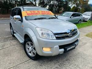 2010 Great Wall X240 Luxury 4x4 SUV LOW KS LONG REGO SUNROOF MAGS A1