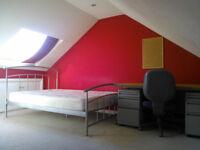 To rent, en- suite attic room