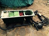Kockney koi filter pump and uv
