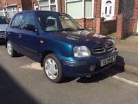 Nissan Micra GX 1.0 2001 5 Doors 12 Months Mot *FSH *1 Previous Owner**Fantastic Offer***