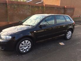 Audi A3 sportback 1.6 petrol special edition 2008 (57), 94k, service history, timing belt changed