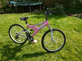 Womens Trax mountain bike