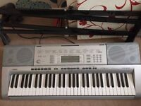 casio ctk 4000 electric keyboard and stand