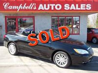 2011 Chrysler 200 LX CONVERTIBLE!! ALLOYS!! CRUISE!! AIR!! PW PL
