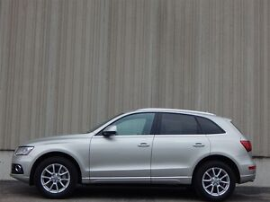 2013 Audi Q5 3.0 LITER TURBO-AWD-LEATHER