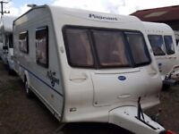 2004 Bailey Pageant Moselle 4 Berth End Washroom Caravan with Motor Mover