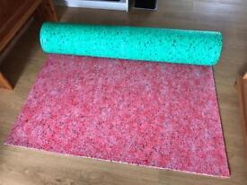 Carpet underlay 5sqm approx