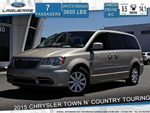 2015 Chrysler Town & Country TOURING**7 PLACES*CAMERA*CRUISE*A/C