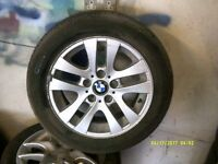 BMW SET OF 4 ALLOYS