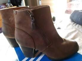 Ladies Clark's ankle boots