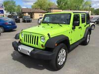 2012 Jeep Wrangler Unlimited Sahara 2 Toits