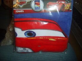 Kids caracter Towels and Towel Ponchos all Original and brand new in packets various prices