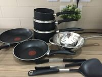 Tefal Easycare 5 Piece Non-Stick Pan Set