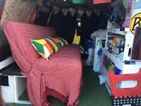 Free Click clack sofa bed - ideal for camper van bed etc