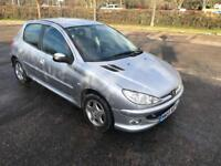 PEUGEOT 206 1.4 LONG MOT 2006 PETROL DRIVES LOVELY