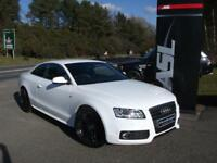AUDI A5 2.0 TDI S Line Special Ed 2dr [Start Stop] (white) 2010