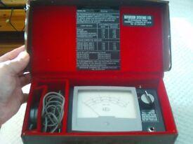 photometer diffusion portable luxmeter
