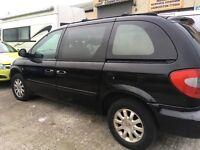 2004 Chrysler Grand Voyager black Automatic 1 Years MOT