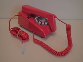 Wild and Wolf Retro Trim Phone