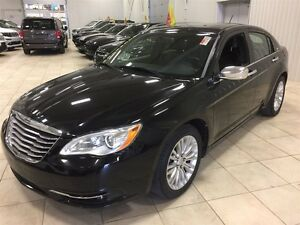 2013 Chrysler 200 LIMITED, CUIR, TOIT, MAGS, V6