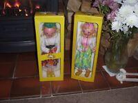 pair of pelham vintage puppets
