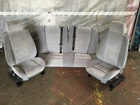 BMW E36 Coupe Light Silver Grey Interior Seats Hellgrau 323i 325i 328i