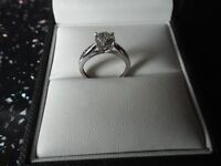 Brand new diamond ring with receipt. Saving over £400